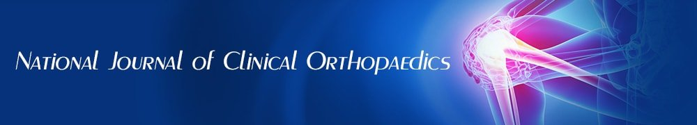 National Journal of Clinical Orthopaedics